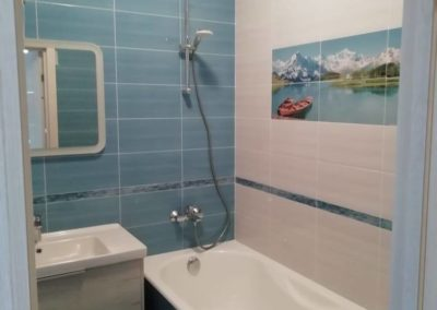 Ремонт ванной и туалета в Железнодорожном