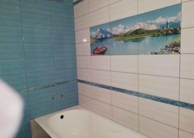 установка ванна